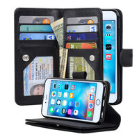 4.7-inch iPhone 6/6S Three Layers Wallet Case