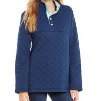 Lauren James Lawson Quilted Pullover Jacket | Dillards