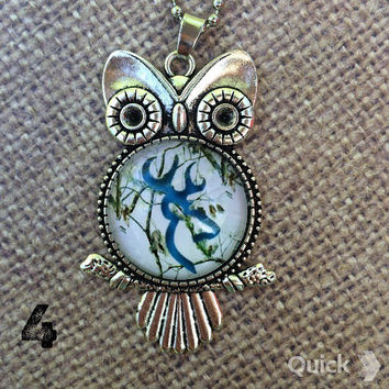 Browning Owl Necklace