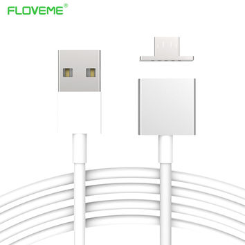 Magnetic Charge Cable Micro USB Data Cable For Android fast charging