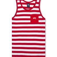 Red Marvin Tank