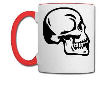 skull design - Coffee/Tea Mug