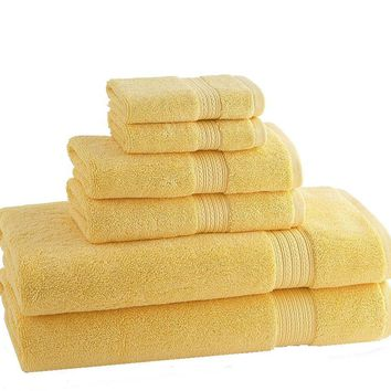 CLASSIC EGYPTIAN TOWELS| Set of 6 | Pineapple