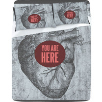 Wesley Bird You Are Here Sheet Set
