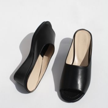 MARYAM NASSIR ZADEH | Yves Wedge Platform - Black