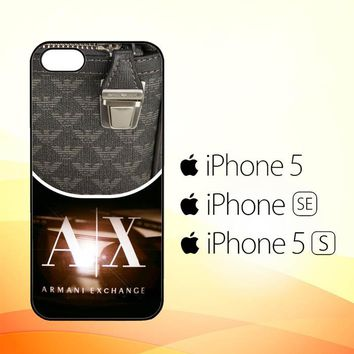 Armani Exchange Logo X3308  iPhone 5|5S|SE Case