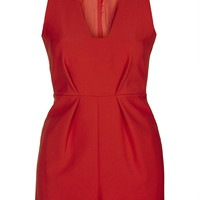 Plunge Front Playsuit