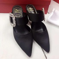 Roger Vivier Women Fashion Casual Heels Shoes-5