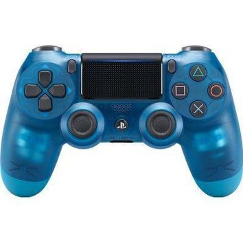 Sony Playstation Dualshock 4 Ps4 Wireless Controller (2nd Generation) Exclusive Blue Crystal Edition