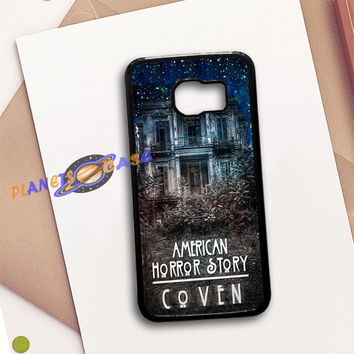 American Horror Story coven In Galaxy Samsung Galaxy S6 Case Planetscase.com