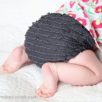 Diaper Covers with Ruffle Fabric | Make It and Love It