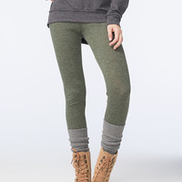 FULL TILT Womens Ribbed Sweater Leggings | Leggings