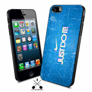Nike Just Do It Blue iPhone 4s iphone 5 iphone 5s iphone 6 case, Samsung s3 samsung s4 samsung s5 note 3 note 4 case, iPod 4 5 Case