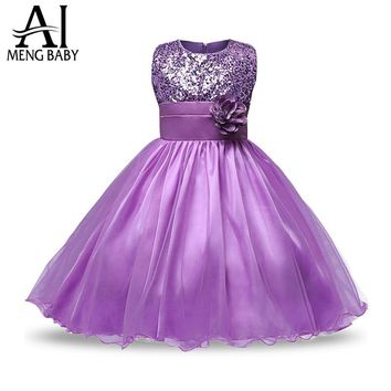 Kids Party Dresses For Girls Wedding Kids Costume Teenage Girl Clothes Children Clothing