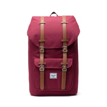 Herschel Supply Co. - Little America Windsor Wine Tan Synthetic Leather Backpack