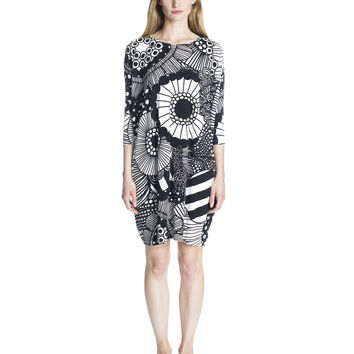 SAMLIS MARIMEKKO DRESS BLACK/WHITE