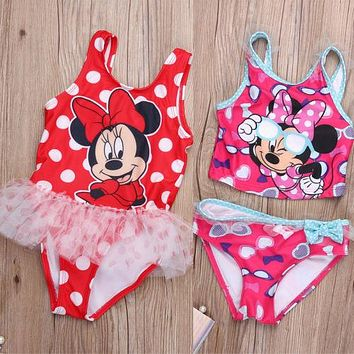 Minnie Mouse Toddler Swimsuit Bathing Suit