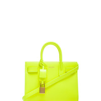 aby Sac De Jour Carryall Bag in Neon Yellow