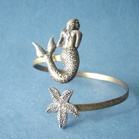 Mermaid Bracelet With A Seashell. W.. on Luulla