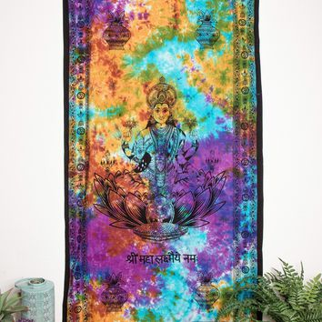 Goddess Lakshmi Curtain