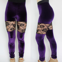 Velvet Late Night Leggings