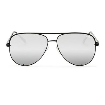 Quay X Desi High Key Sunglasses in Black