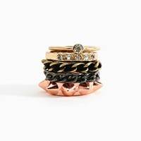 Nasty Gal - Metal Love Rings