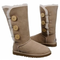 Women's UGG Bailey Button Triplet Boot Chestnut Shoes.com