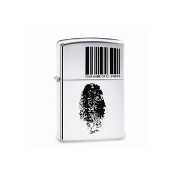 Zippo Finger Id High Polish Chrome Lighter