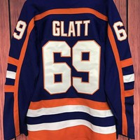 DCCK4VQ Doug 'The Thug' Glatt Halifax Highlanders 69 Goon Movie Hockey Jersey