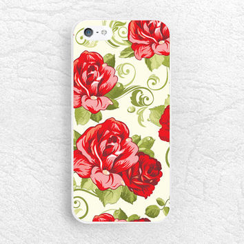 Red Rose phone case for iPhone 6 iPhone 5s, Sony z1 z2 z3 compact, LG g3 nexus 5, HTC one m7 m8, Moto x Moto g, Samsung S6 floral case -P35