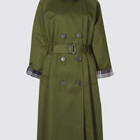 Pure Cotton Trench Coat with Stormwear™ | M&S