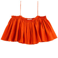 Apiece Apart - Electric Orange Sanna Cropped Cami | BONA DRAG