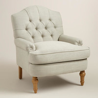 Natural Linen Annella Chair