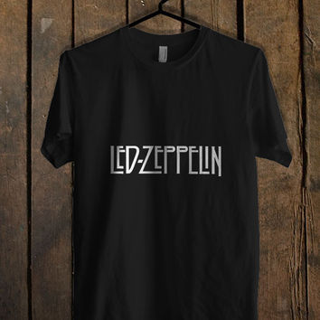 Led Zeppelin logo T Shirt Mens T Shirt and Womens T Shirt *