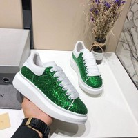DCCK Alexander McQueen Women Men Fashion Casual Green sports shoes Size 36-45