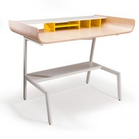 Half Pipe Desk - Birch