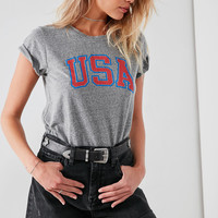 Truly Madly Deeply USA Tee | Urban Outfitters