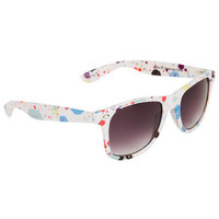 Paint Splatter Wayfarer - Multi