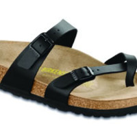 Mayari Black Birko-Flor Sandals | Birkenstock USA Official Site