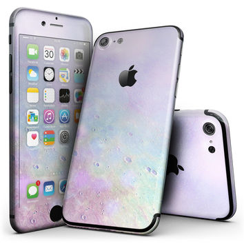 The Tie-Dye Cratered Moon Surface - 4-Piece Skin Kit for the iPhone 7 or 7 Plus