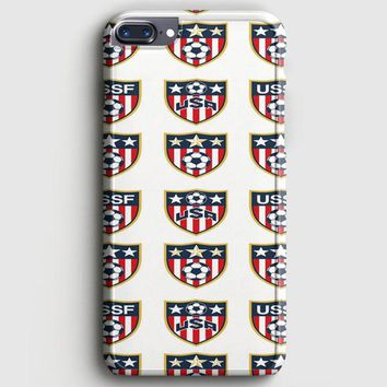 Usa Soccer Ball World Cup iPhone 7 Plus Case