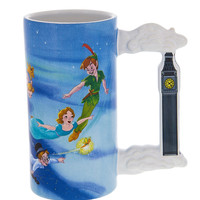Disney Parks Peter Pan Off the Neverland Ceramic Coffee Mug New