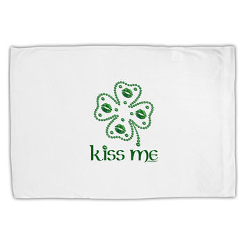 Kiss Me Clover Standard Size Polyester Pillow Case