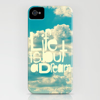 Life is But a Dream iPhone & iPod Case by Beth Thompson