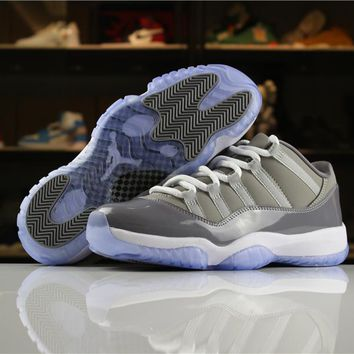 "Air Jordan 11 ""Cool Grey"" 528895-003 Size 36-47"