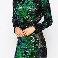 Razzle Dazzle Sequins Dress