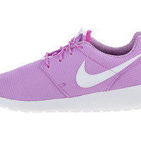 Nike Kids Roshe Run (Little Kid/Big Kid) Black/Bold Berry/Total Orange/Pink Pow - Zappos.com Free Shipping BOTH Ways