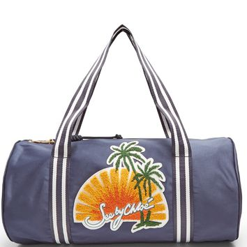 Sunset-embroidered satin bag | See By Chloé | MATCHESFASHION.COM US