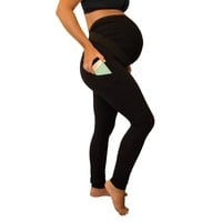 Power Maternity Leggings with Pregnancy Belly Support